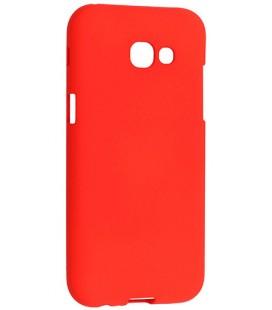 """Raudonas silikoninis dėklas Samsung Galaxy A5 2017 telefonui """"Mercury Soft Feeling"""""""