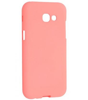 """Rožinis silikoninis dėklas Samsung Galaxy A5 2017 telefonui """"Mercury Soft Feeling"""""""