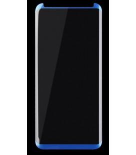 Lenktas mėlynas CF 3D apsauginis grūdintas stiklas Samsung Galaxy S8 telefonui