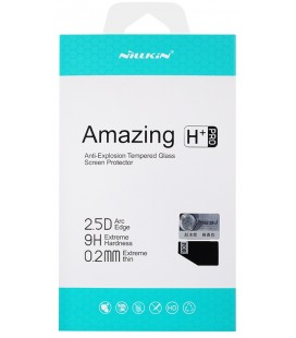 """Apsauginis grūdintas stiklas 0,2mm Samsung Galaxy A8 2018 telefonui """"Nillkin Amazing H+ PRO"""""""