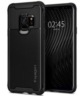 "Juodas dėklas Samsung Galaxy S9 telefonui ""Spigen Rugged Armor Urban"""