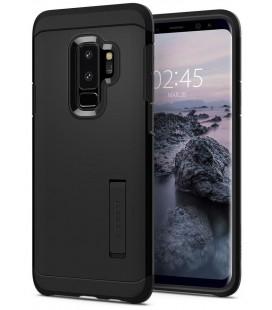 """Juodas dėklas Samsung Galaxy S9 Plus telefonui """"Spigen Tough Armor"""""""