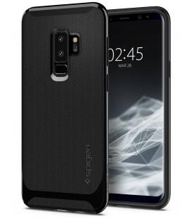 """Blizgus juodas dėklas Samsung Galaxy S9 Plus telefonui """"Spigen Neo Hybrid"""""""