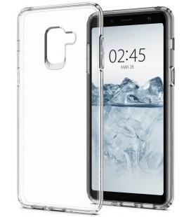 "Skaidrus dėklas Samsung Galaxy A8 2018 telefonui ""Spigen Liquid Crystal"""