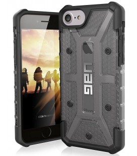 "Juodas - skaidrus dėklas Apple iPhone 8/7/6s telefonui ""UAG - Urban Armor Gear"""