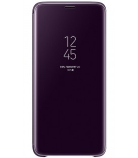 "Originalus violetinis dėklas ""Clear View Standing Cover"" Samsung Galaxy S9 telefonui ef-zg960cve"