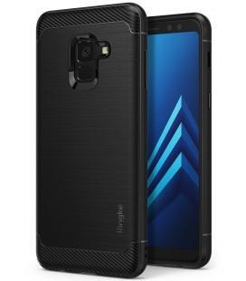 """Juodas dėklas Samsung Galaxy A8 2018 telefonui """"Ringke Onyx"""""""
