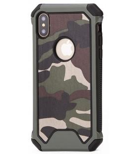 """Žalias kamufliažinis dėklas Apple iPhone X telefonui """"Rugged Armoro"""""""
