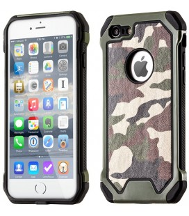 "Žalias kamufliažinis dėklas Apple iPhone 5/5s/SE telefonui ""Rugged Armoro"""