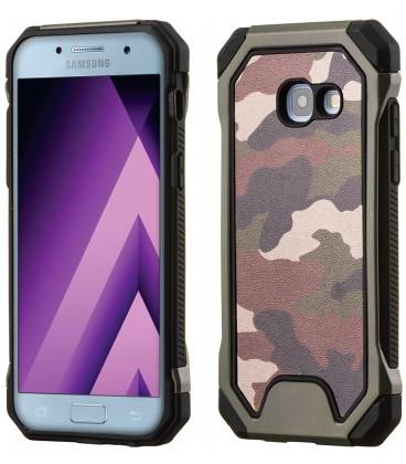 """Žalias kamufliažinis dėklas Samsung Galaxy A3 2017 telefonui """"Rugged Armoro"""""""