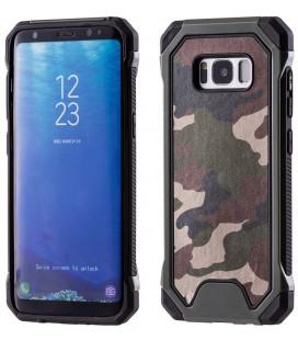 """Žalias kamufliažinis dėklas Samsung Galaxy S8 telefonui """"Rugged Armoro"""""""