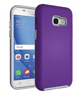 """Violetinis dėklas Samsung Galaxy A3 2017 telefonui """"Armor Rugged"""""""