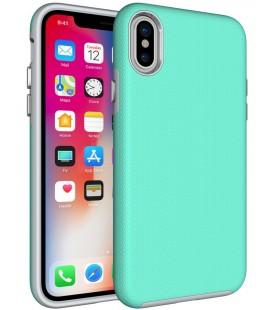 """Mėtos spalvos dėklas Apple iPhone X telefonui """"Armor Rugged"""""""
