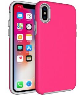 """Rožinis dėklas Apple iPhone X telefonui """"Armor Rugged"""""""