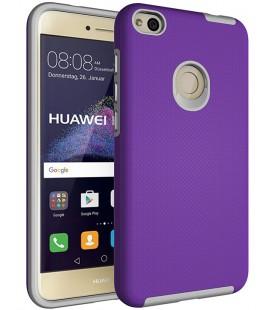 """Violetinis dėklas Huawei P8/P9 Lite 2017 telefonui """"Armor Rugged"""""""