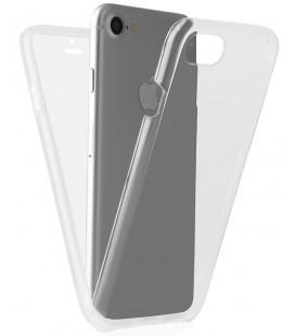 """Skaidrus dviejų dalių dėklas Apple iPhone 7/8 telefonui """"360"""""""