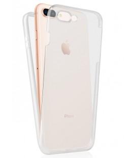 """Skaidrus dviejų dalių dėklas Apple iPhone 7 Plus / 8 Plus telefonui """"360"""""""