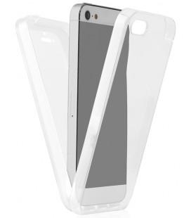 """Skaidrus dviejų dalių dėklas Apple iPhone 5/5s/SE telefonui """"360"""""""