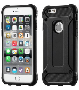 "Juodas dėklas Apple iPhone 6/6s telefonui ""Hybrid Armor Case"""