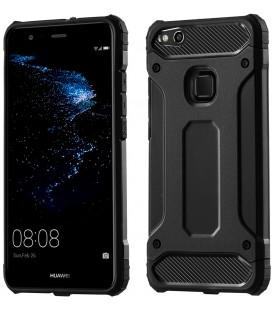 """Juodas dėklas Huawei P10 Lite telefonui """"Hybrid Armor Case"""""""
