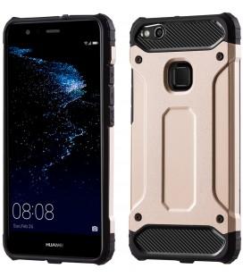 """Auksinės spalvos dėklas Huawei P10 Lite telefonui """"Hybrid Armor Case"""""""