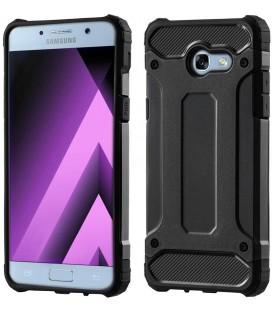 """Juodas dėklas Samsung Galaxy A3 2017 telefonui """"Hybrid Armor Case"""""""