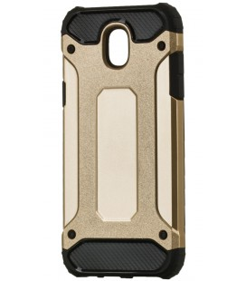 """Auksinės spalvos dėklas Samsung Galaxy J3 2017 telefonui """"Hybrid Armor Case"""""""