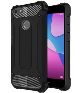 """Juodas dėklas Huawei P9 Lite Mini telefonui """"Hybrid Armor Case"""""""
