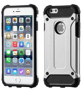 """Sidabrinės spalvos dėklas Apple iPhone 6/6s telefonui """"Hybrid Armor Case"""""""