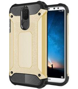 """Juodas dėklas su ornamentais Huawei P10 telefonui """"Lace Case D4"""""""