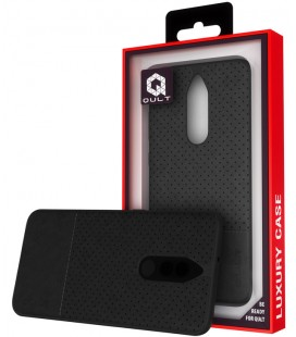 """Juodas dėklas Huawei Mate 10 Lite telefonui """"Qult Drop"""""""