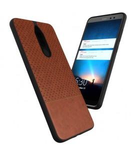 """Baltas dėklas su ornamentais Huawei P10 telefonui """"Lace Case D1"""""""