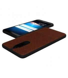 """Juodas dėklas su ornamentais Samsung Galaxy A3 2016 telefonui """"Lace Case D3"""""""