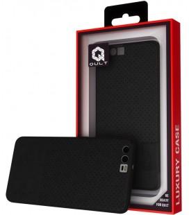 """Juodas dėklas Huawei P10 telefonui """"Qult Drop"""""""