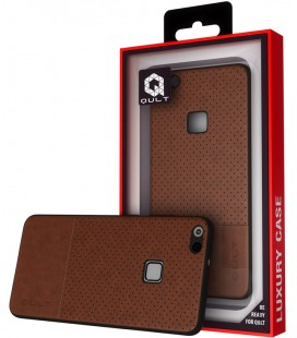 "Rudas dėklas Huawei P10 Lite telefonui ""Qult Drop"""