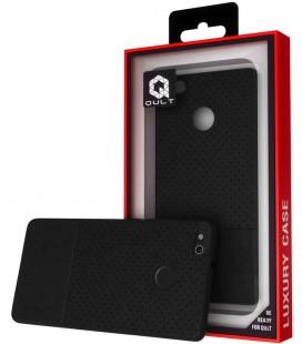 """Juodas dėklas Huawei P8/P9 Lite 2017 telefonui """"Qult Drop"""""""