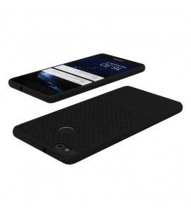 """Baltas dėklas su ornamentais Samsung Galaxy J5 2017 telefonui """"Lace Case D3"""""""