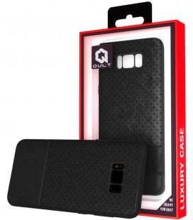 """Juodas dėklas Samsung Galaxy S8 telefonui """"Qult Drop"""""""