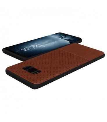 """Raudonas atverčiamas dėklas Huawei P10 telefonui """"Smart Book Magnet"""""""