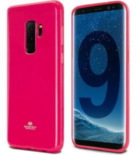 """Rožinis silikoninis dėklas Samsung Galaxy S9 Plus telefonui """"Mercury Goospery Pearl Jelly Case"""""""