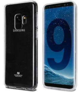 """Skaidrus silikoninis dėklas Samsung Galaxy S9 telefonui """"Mercury Goospery Pearl Jelly Case"""""""