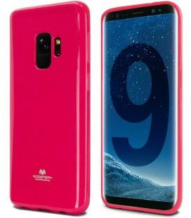 """Rožinis silikoninis dėklas Samsung Galaxy S9 telefonui """"Mercury Goospery Pearl Jelly Case"""""""