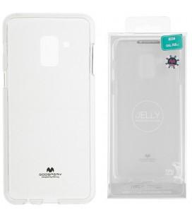 """Skaidrus silikoninis dėklas Samsung Galaxy A8 2018 telefonui """"Mercury Goospery Pearl Jelly Case"""""""