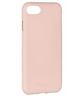 """Smėlio spalvos silikoninis dėklas Apple iPhone 7 telefonui """"Mercury Soft Feeling"""""""