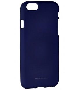 """Tamsi mėlynas silikoninis dėklas Apple iPhone 6/6s telefonui """"Mercury Soft Feeling"""""""