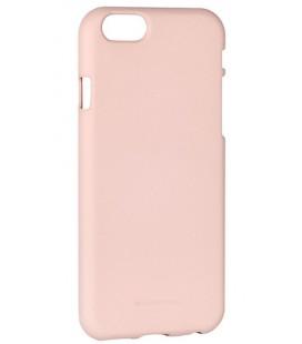 """Smėlio spalvos silikoninis dėklas Apple iPhone 6/6s telefonui """"Mercury Soft Feeling"""""""