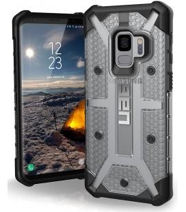 """Juodas - skaidrus dėklas Samsung Galaxy S9 telefonui """"UAG - Urban Armor Gear Plasma"""""""