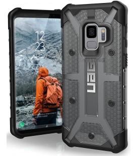 """Juodas - pilkas dėklas Samsung Galaxy S9 telefonui """"UAG - Urban Armor Gear Plasma"""""""