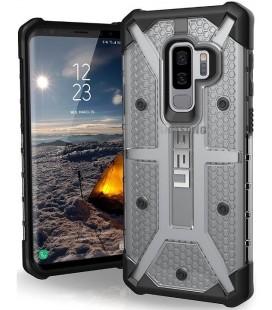 """Juodas - skaidrus dėklas Samsung Galaxy S9 Plus telefonui """"UAG - Urban Armor Gear Plasma"""""""