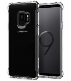"Skaidrus dėklas Samsung Galaxy S9 telefonui ""Spigen Rugged Crystal"""